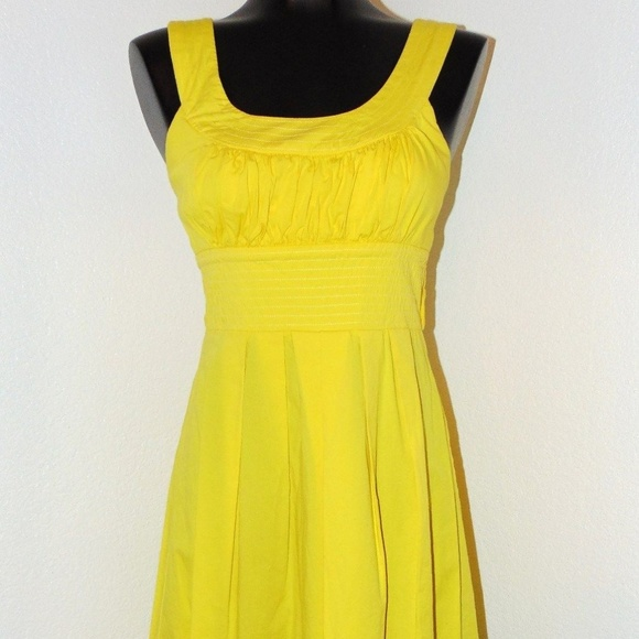 521f2a522 Trixxi Dresses | Yellow Empire Waist Dress By In Size 9 | Poshmark